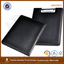 A4 pu custom restaurant leather menu cover