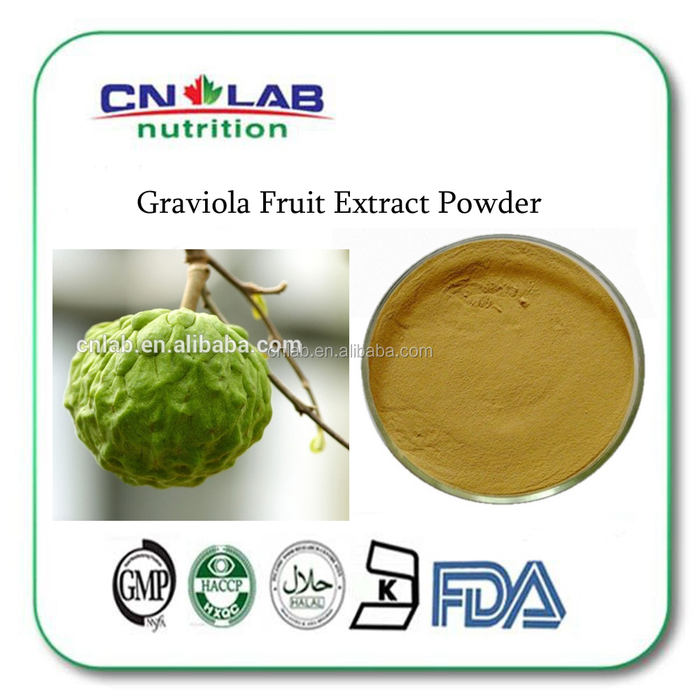 Graviola Fruit Extract Powder/Soursop Extract/Guanabana Extract