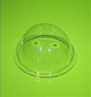 China factory supply high clear optical acrylic dome cover