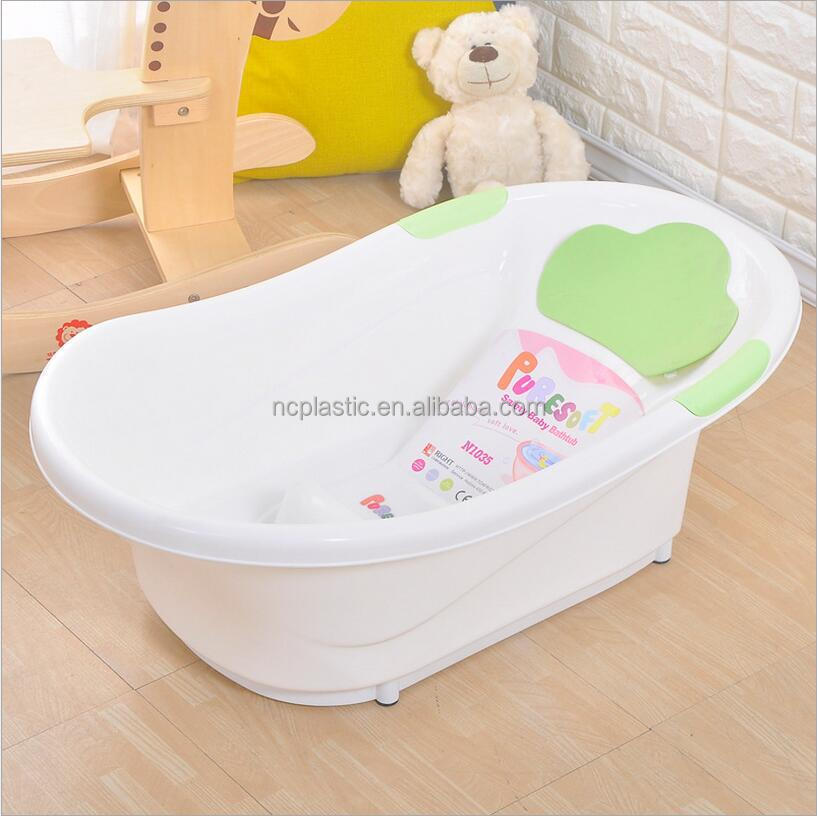 Thermometer Scales Digital Toddler Tub lilas bebe plastic bathtub with Slideguard Sink