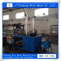 lowest price of chain link fence machine