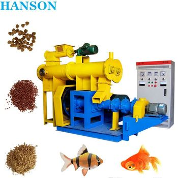 Durable CE certificated feed & fish poultry pellet production line