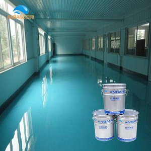 AB-DP-300M good levelling anti slip wear-resisting epoxy floor paint