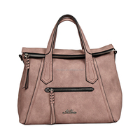 classic high quality PU ladies famous designs inspired women handbag wholesale