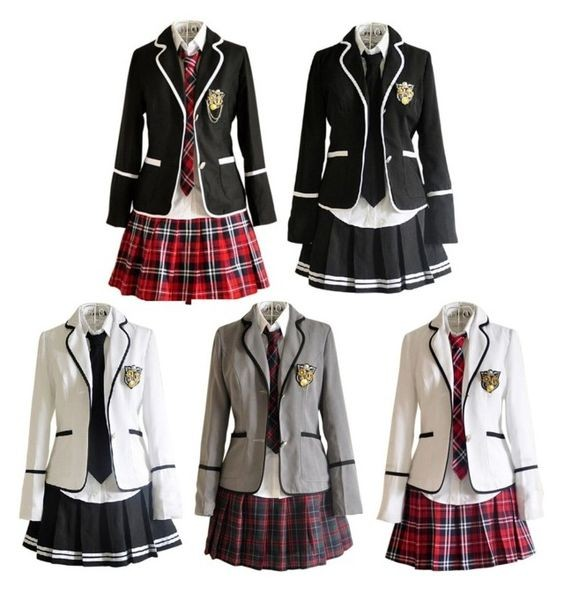Japanese young girl high school uniform patterns