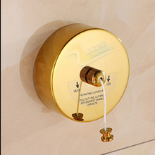 Convenient Bathroom Accessory Bathroom balcony Stainless Steel Golden Telescopic Clothesline