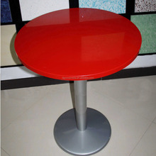 Outdoor round stone table top acrylic resin table top