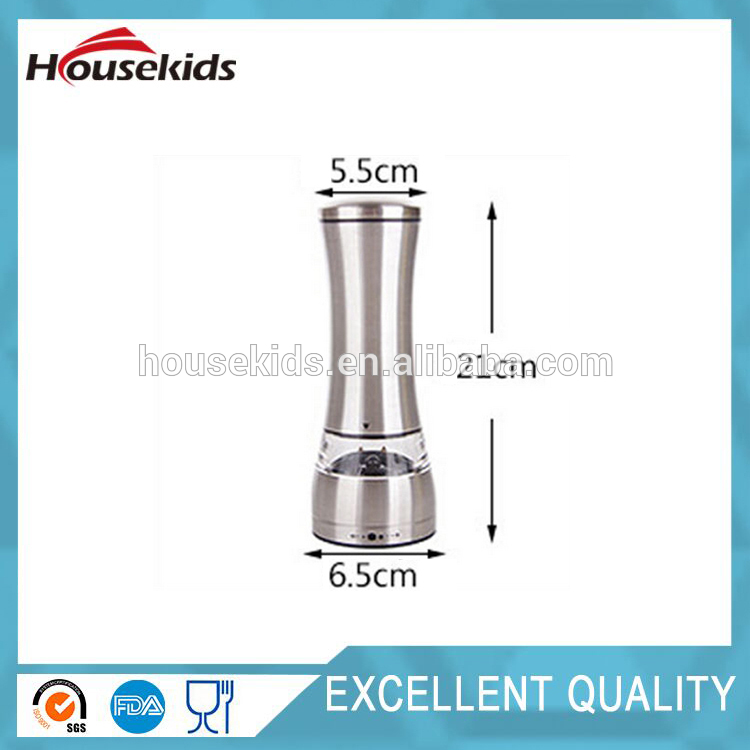 Brand new william bounds stainless steel pepper mill with high quality