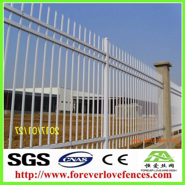 metal mesh fencing with ground screw anchor fence panels