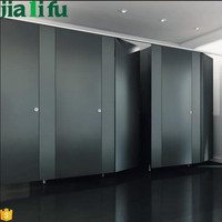 Waterproof compact laminate phenolic board shower toilet cubicles