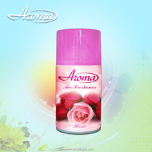 Rose scented air freshener spray