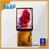 2.4 ''tft lcd 30PIN 240x320 with resistance touch panel and MCU interface industrial supplier lcd panel