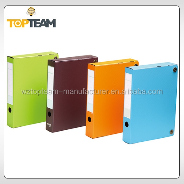 Hot selling custom printed stationery file,high quality no more mess wonder file,desktop file holder