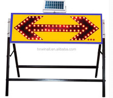 Flashing warning arrow light sign plate on sale
