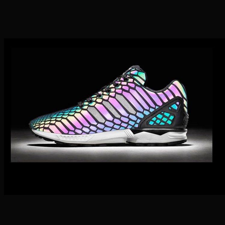 sun reflective tpu material fluorescence color sports shoes material 1.4mm thickness