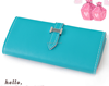 Customize purse alibaba China market smart plain clutch bag