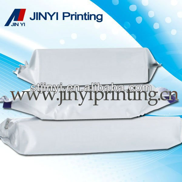 Laminated plastic waterproof pouch for biscuit packaging
