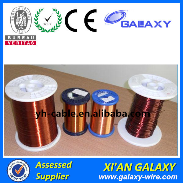 AWG 27 Insulated Enamel Copper Coated Aluminum Winding Wire for Motor