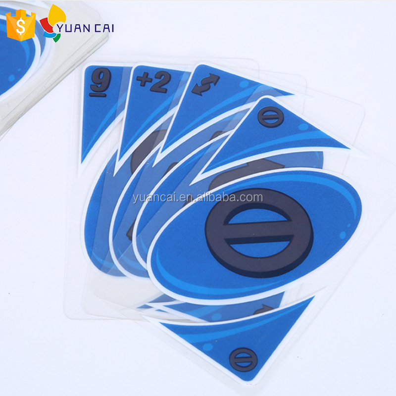 Custom Plastic Uno Card