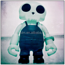 pop design custom evil skull action figure ;roto casting manufacturer vinyl figure;vinyl toy wholesale for kids