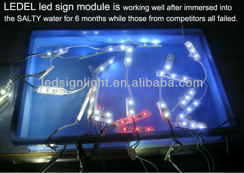15w 12v 1100lm 5 years warranty UL Listed edge emitting high power led modules Rigid strip for light box