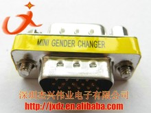 D-sub 15p 15pin male to male converter connector, mini gender changer DB15