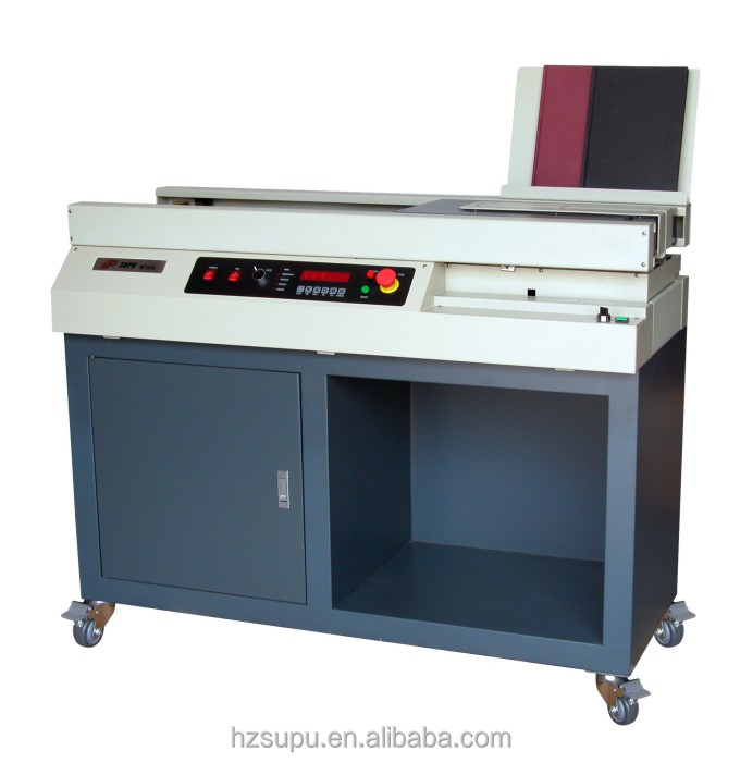 New Design Hot Melt Glue Book Binding Machine