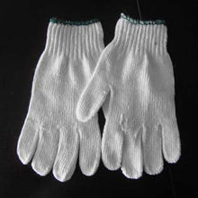 Cotton Knitted Led Work Gloves