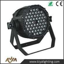 High Power LED Par Can 54*3W RGBW battery powered led par can Led Par Light