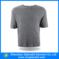 Shenzhen garment factory 100% pima cotton blank t-shirt wholesale