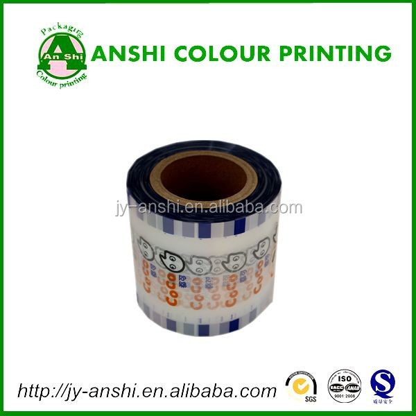 gravure soft plastic printed laminated packing materials fruit jelly film