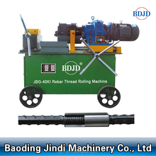Building machinery rebar portable automatic threading machine