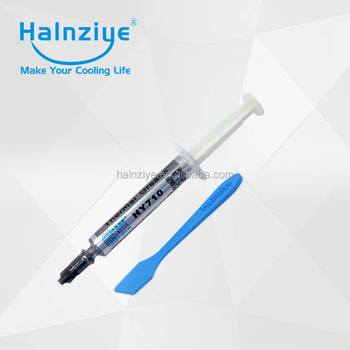 HY710 opp bag 2g Silver Thermal Compound For computer CPU GPU Cooler
