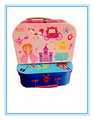 Cardboard children suitcase with metal handle for girl & boy for food