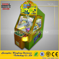 Digging treasure robot game machine/arcade game machine for kids