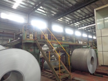 Uncoiling (Cold-rolled Steel Coil)