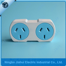 Australian double adaptor ,power socket,extension socket and plug