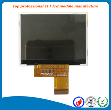"China low cost 2.3"" lcd display 320x240 qvga touch screen tft module"