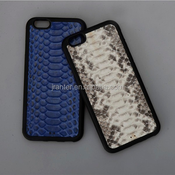 Luxury Handmade Real Python Snake Leather Case for iPhone 6s