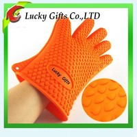 Amazon Selling Well BBQ Cooking Novelty Silicone Oven Mitt