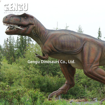 Outdoor High Emulation Mechanical Animatronic Robot Dinosaur