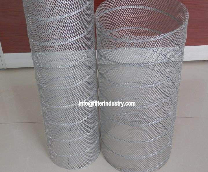 Expanded Mesh Filter Spiral Tube Making Machine