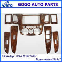 Wooden Dashboard For Toyota Hilux Vigo 2014 Interior Panel For Vigo 2014