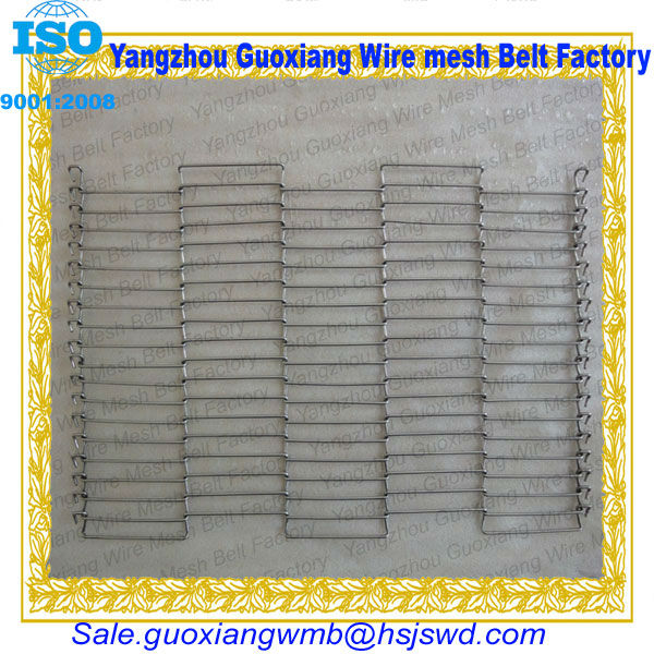 wire mesh flex belt for barbecue