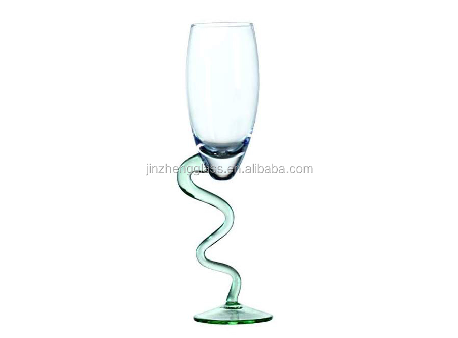 lead free crystal glass stemware / goblet glassware/ red wine goblet wholesale/2014 world cup