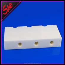 Zirconia Alumina Ceramic Base Locating Piece Block with Thread <strong>Hole</strong>