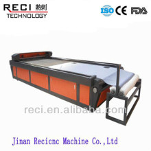 china price laser cutter with automatic feeding for fabric