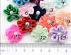 hi-ana artificial flower Handmade with beads adorned with flowers ribbons flowers clothing accessories