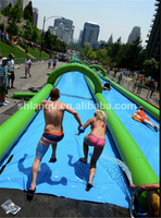 Slide the City Super Long Inflatable Slip n Slide for Adult