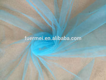 Warp knit plain net mesh fabric for decoration fabric textile for DRF